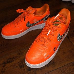 """Nike Shoes - Nike Air Force 1 """"Just Do It"""""""